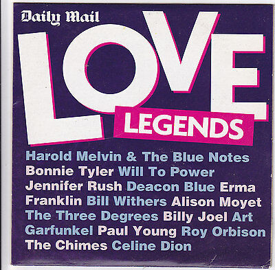 Love Legends  Daily Mail Cd Post Free • 1.99£