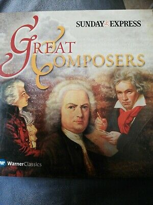 Great Composers - CD • 0.50£