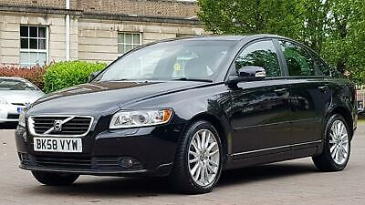 Volvo S40 2.0 TD SE Lux Powershift 4dr(1 FORMER KEEPER+LEATHER ) • 2,795£