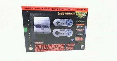 $ CDN198.20 • Buy SNES Super Nintendo Classic Mini Entertainment System 21 Games Free Shipping