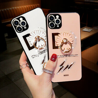 AU17.38 • Buy For IPhone 11 Pro Max XS XR 6 7 8 Bling Glitter Girl Women Ring Stand Case Cover