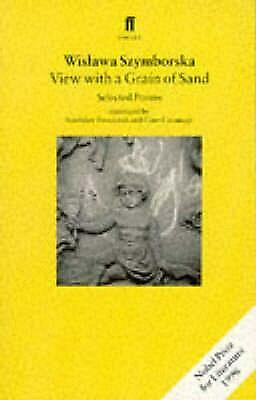 View With A Grain Of Sand: Selected Poems By Wislawa Szymborska (English) Paperb • 12.04£