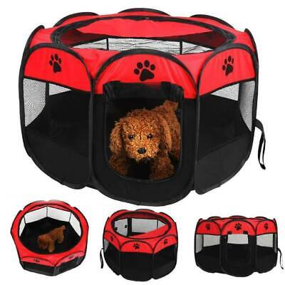 Durable Pet Dog Cage Tent Mesh Puppy Kitten Sleeping Bed Mat Small Play House • 12.99£