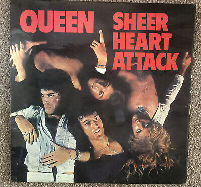 Queen Sheer Heart Attack Vinyl • 25£