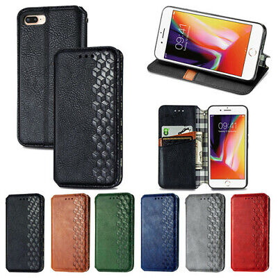 Leather Magnetic Flip Wallet Fashion Phone Case Cover For IPhone 12 Mini Pro Max • 5.99£