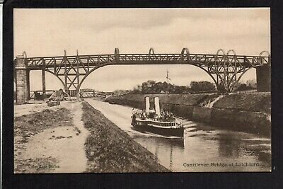 Warrington - Latchford Cantilever Bridge - Printed Postcard • 8.50£
