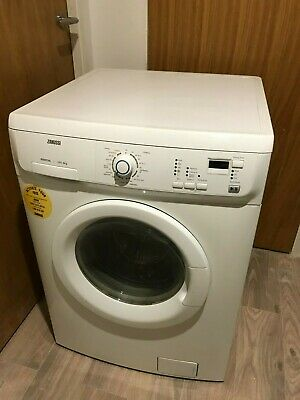Working White Freestanding Washer Dryer Zanussi ZWD 16270 WI In Good Condition • 50£