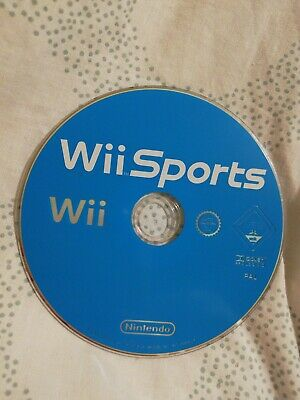 Wii Sports Disc Only - Nintendo Wii Game • 1£