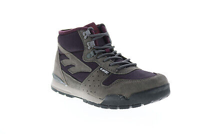 Hi-Tec Sierra Lite Mid 23171 Womens Gray Suede Lace Up Hiking Boots • 40.99£