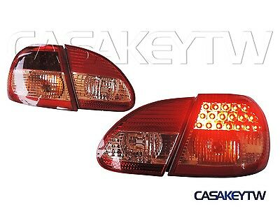 $204 • Buy New Style Led Tail Lights Lamps RED /CLEAR For 2003 ~ 2007 Toyota Corolla