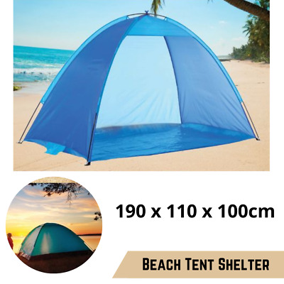 AU26.69 • Buy Pop Up Beach Tent Canopy UV Camping Fishing Mesh Sun Shade Shelter Outdoor