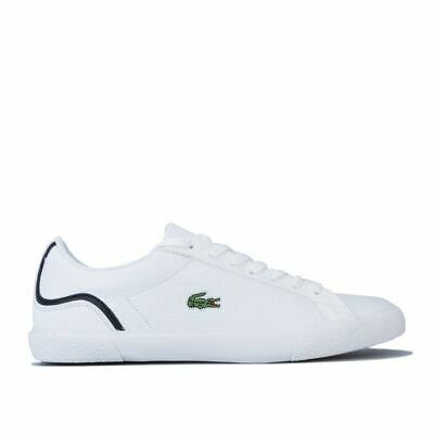 Men's Lacoste Lerond 220 Lace Up Comfort Casual Trainers In White • 38.94£