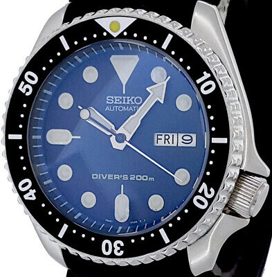 $ CDN134.05 • Buy Vintage Diver Seiko SKX007 Genuine 7S26 Movement, Dial + D-Dome Sapphire Crystal