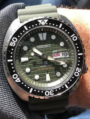 $ CDN406.40 • Buy Seiko King Turtle SRPE05 Automatic Green Dial Diver Watch