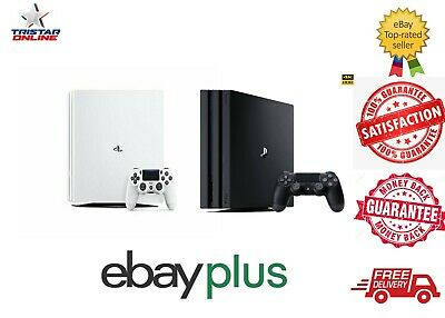 AU449 • Buy Sony PlayStation 4 PS4 Pro Black White Console+Controller Box 4K HDR Aus Stock