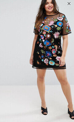 AU23 • Buy Asos Curve Mini Tshirt Dress