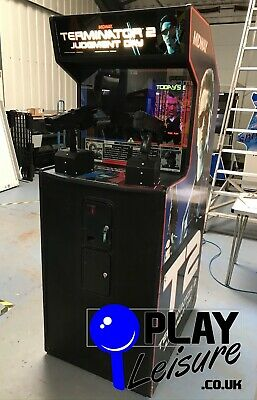 Midway's Terminator 2 Arcade Machine - Ready To Play - Games Room Man Cave • 1,895£
