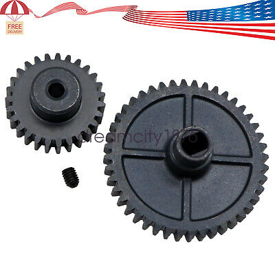 $ CDN15.10 • Buy Upgrade Metal Reduction Gear Motor Gear For Wltoys 144001 1/14 RC Car Parts TO