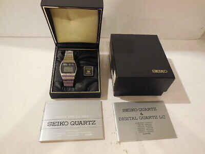 $ CDN13.10 • Buy Vtg. SEIKO QUARTS MEN'S WATCH - ONE OWNER ALL ORIGINAL - LOADED WITH EXTRAS