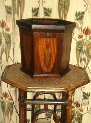 Art Nouveau Inlaid Smokers Cabinet -  Arts & Crafts  • 38£