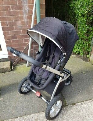 Mothercare My4 Pram/ Pushchair/ Cartycot/ Buggy With All Accessories. • 25.99£
