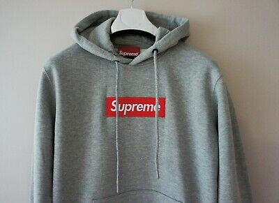 $ CDN106.79 • Buy Authentic Supreme Box Logo Gray Hoodie BNWT Supreme Grip Italfigo F/W2020