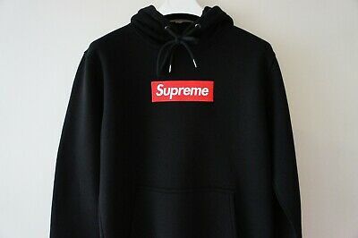 $ CDN106.79 • Buy Authentic Supreme Box Logo Black Hoodie BNWT Supreme Grip Italfigo F/W2020