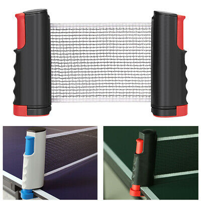 AU19.99 • Buy Retractable Table Tennis Ping Pong Net Portable Games Kit Replacement Set Indoor