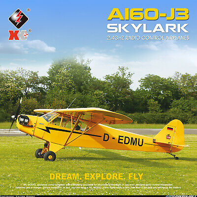 £85.59 • Buy XK A160 Brushless Aircraft 3D/6G 5CH Fixed‑Wing Remote Control Aircraft Model