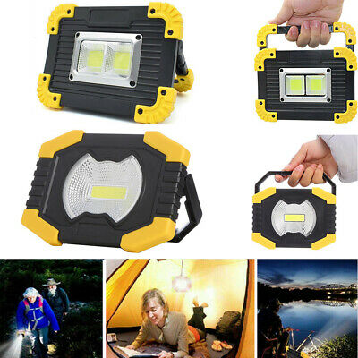 LED Camping Light Rechargeable Lantern Outdoor Tent Lamp Portable Night Light UK • 8.40£