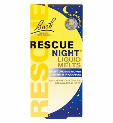 Bach Rescue Remedy Night Liquid Melts 28 Capsules • 16.50£