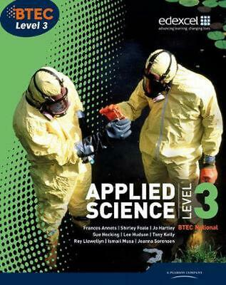 £44.60 • Buy Btec Level 3 National Applied Science Student Book By Frances Annets (English) P