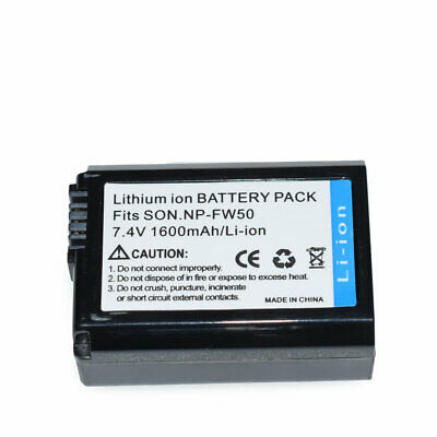 $ CDN12.86 • Buy New NP-FW50 Replacement Battery For Sony NEX-3C NEX-5 Alpha A7 II A7R A7S A5100