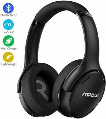 Mpow H19 Active Noise Cancelling Headphones New Upgraded Styling CVC 8.0 Mic • 38.99£