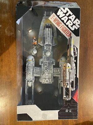 AU400 • Buy Star Wars Y Wing Fighter Toys R Us Exclusive Plus Pilot And R5-F7 Droid
