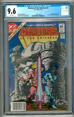 $119.99 • Buy Masters Of The Universe #2 (1983) CGC 9.6 White Pages  Kupperberg - Tuska
