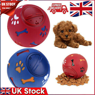 Pet Puzzle Toy Food Dispenser Tough-Treat Ball Puppy Doggy Dog Interactive Toys • 3.99£