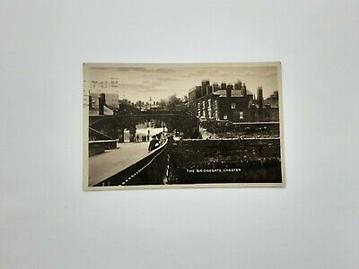 Old Postcard Bridgegate Cheshire  • 1.50£
