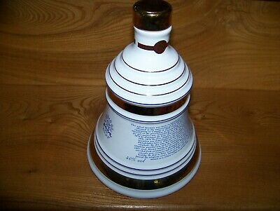 Four Bell's Whisky Decanters From 1986 - 2001 • 2£