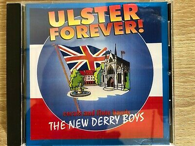 Ulster Forever! Vocals & Flute Bands New Derry Boys CD Ulster - Loyalist -Orange • 5.99£