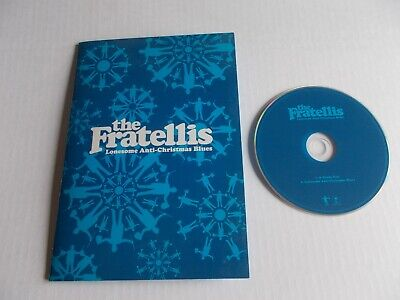 THE FRATELLIS Lonesome Anti Christmas Blues CD Xmas Card Signed Heady Tale • 18.99£