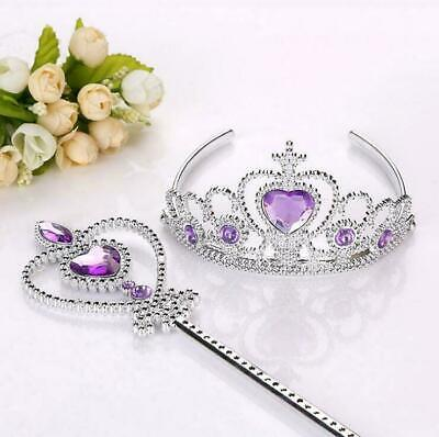 Children Princess Tiara Crown Girls Dress Up Party Fancy Accessories Xmas Gifts • 2.25£