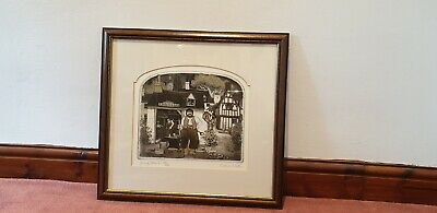 Graham Clarke - Young Oskins Signed Limited Edition Framed Etching Print 221/400 • 49.99£