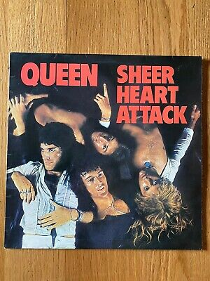 Queen Vinyl -Sheer Heart Attack UK First Press Vinyl EMC 3061 1974 • 25.99£