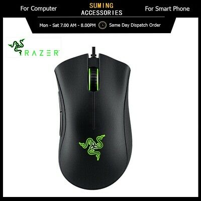 AU49.98 • Buy Genuine Razer Deathadder Essential 6400DPI Gaming Wired Mouse With 5 Buttons