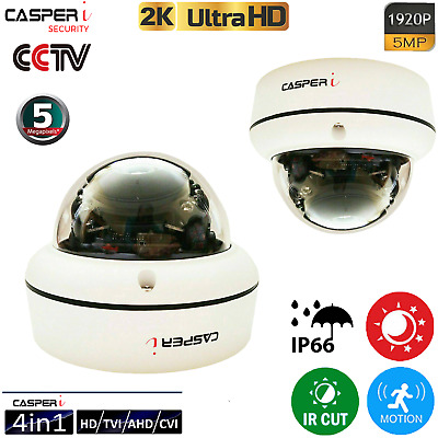 5MP HD Wired POE IP Camera Waterproof Outdoor IR Speed Dome LED CCTV Security UK • 46.90£