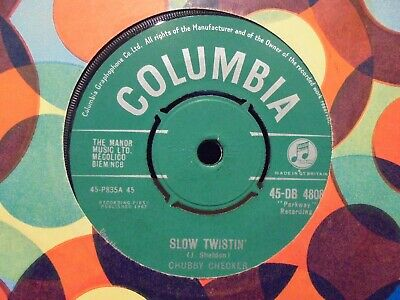 Chubby Checker Slow Twistin'/the Lose-your Inhibitions Twist Tomorrw Ex++ • 5£