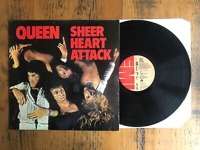 Queen - Sheer Heart Attack - LP Record Vinyl Album - 1974 - Rock Pop • 19.99£