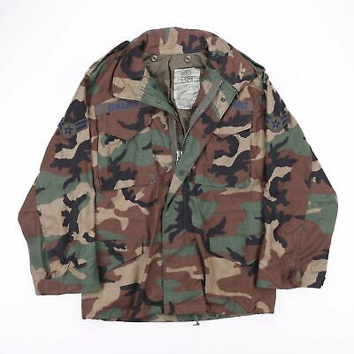 £22.97 • Buy Vintage US AIR FORCE Field Camo Cold Weather Combat Jacket Size Men's Small
