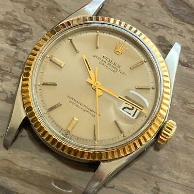 $ CDN3541.99 • Buy Rolex Datejust 1601 Two-tone Vintage Watch 100% Genuine 36 Mm Slate Gray Dial